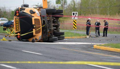 accident autobus, mont-saint-hilaire, mont-saint-hilaire accident, autobus
