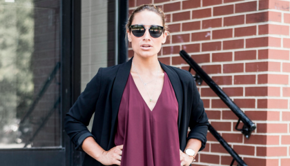 In Love with this Chic Masculine Blazer