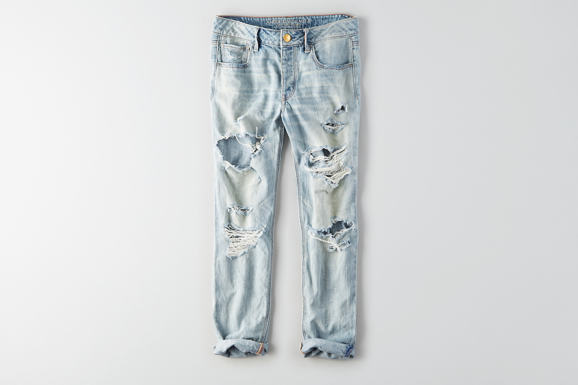Jeans troués tomgirl american eagle