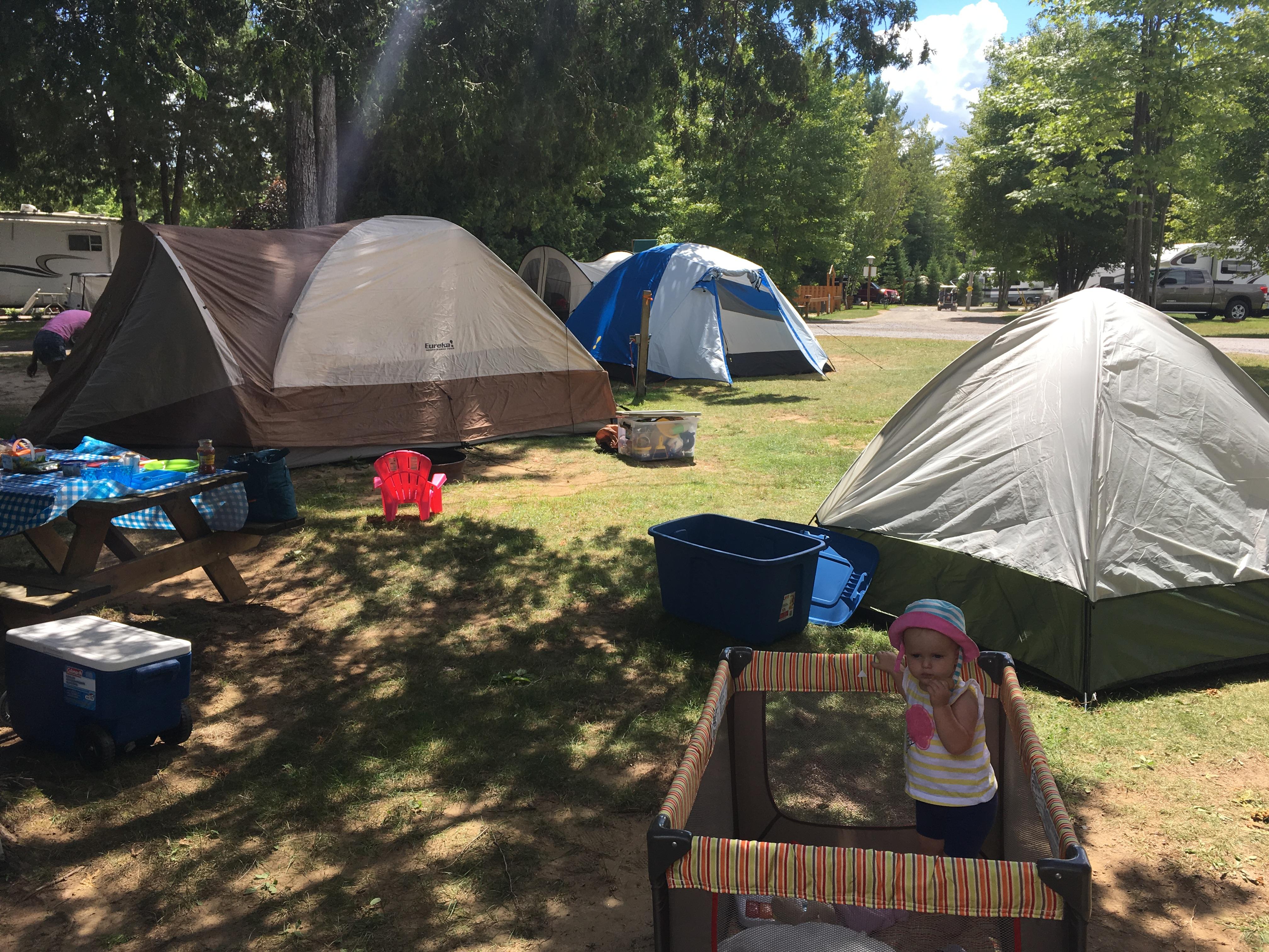 camping bébé