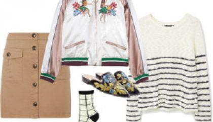 polyvore, outfit, polyvore outfit, bomb jacket, japanese bomb jacket, blouson, blouson japonais, mode japonaise, japanese fashion