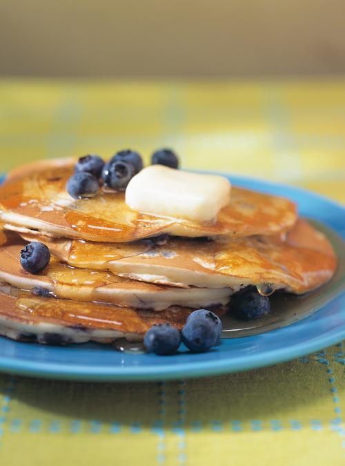 pancake bleuet