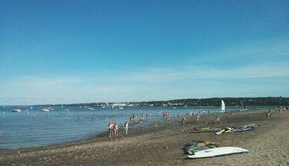Enfin Québec a sa plage! #baiedebeauport