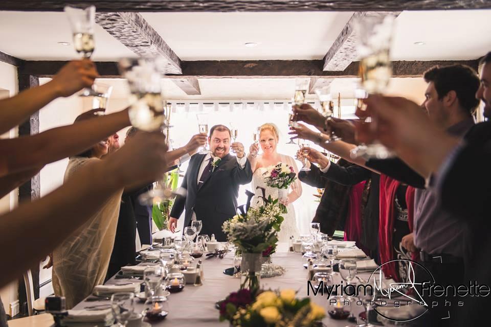 mariage, invités, toast