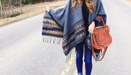 Lots of Ponchos for this Fall