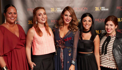 My Night with Revlon Canada at Les Prix Gémaux