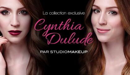 Cynthia Dulude Just Launched her Very First Makeup Collection with Studiomakeup!