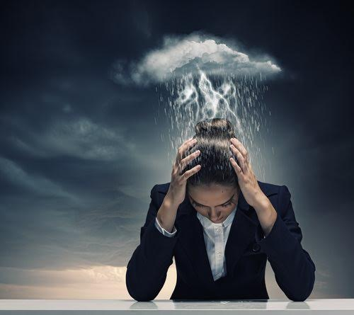 stress seule dépression anxiety