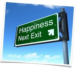 happiness bonheur route