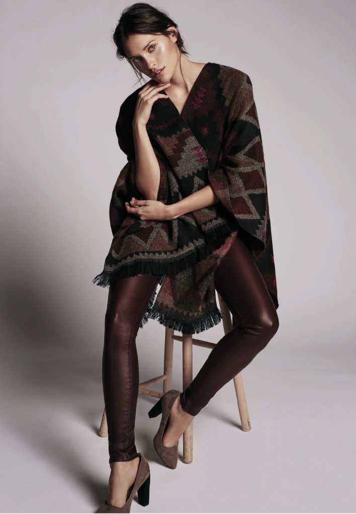 poncho, mode, vêtement