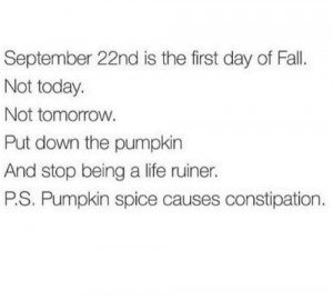 septembre, aujourd'hui, demain
