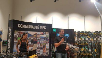 MEC ouvre à Laval ce samedi! Yé!