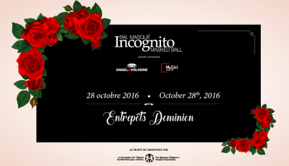 Meet Me at the Ball? Meet Me at Incognito Masked Ball!