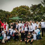 Courir dans un cimetière contre le cancer