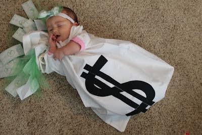 compte banque costume bébé