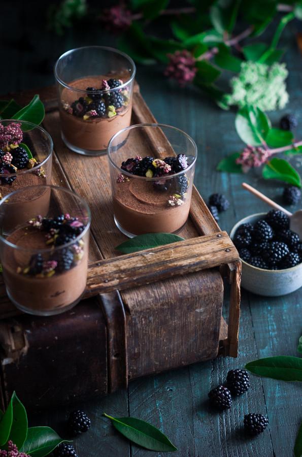 dessert, chocolat, vegan