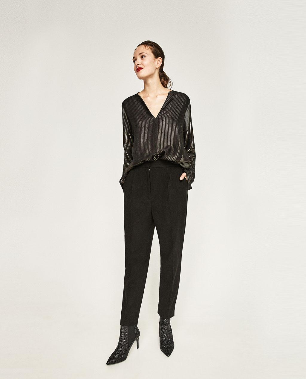 pantalon noir classique