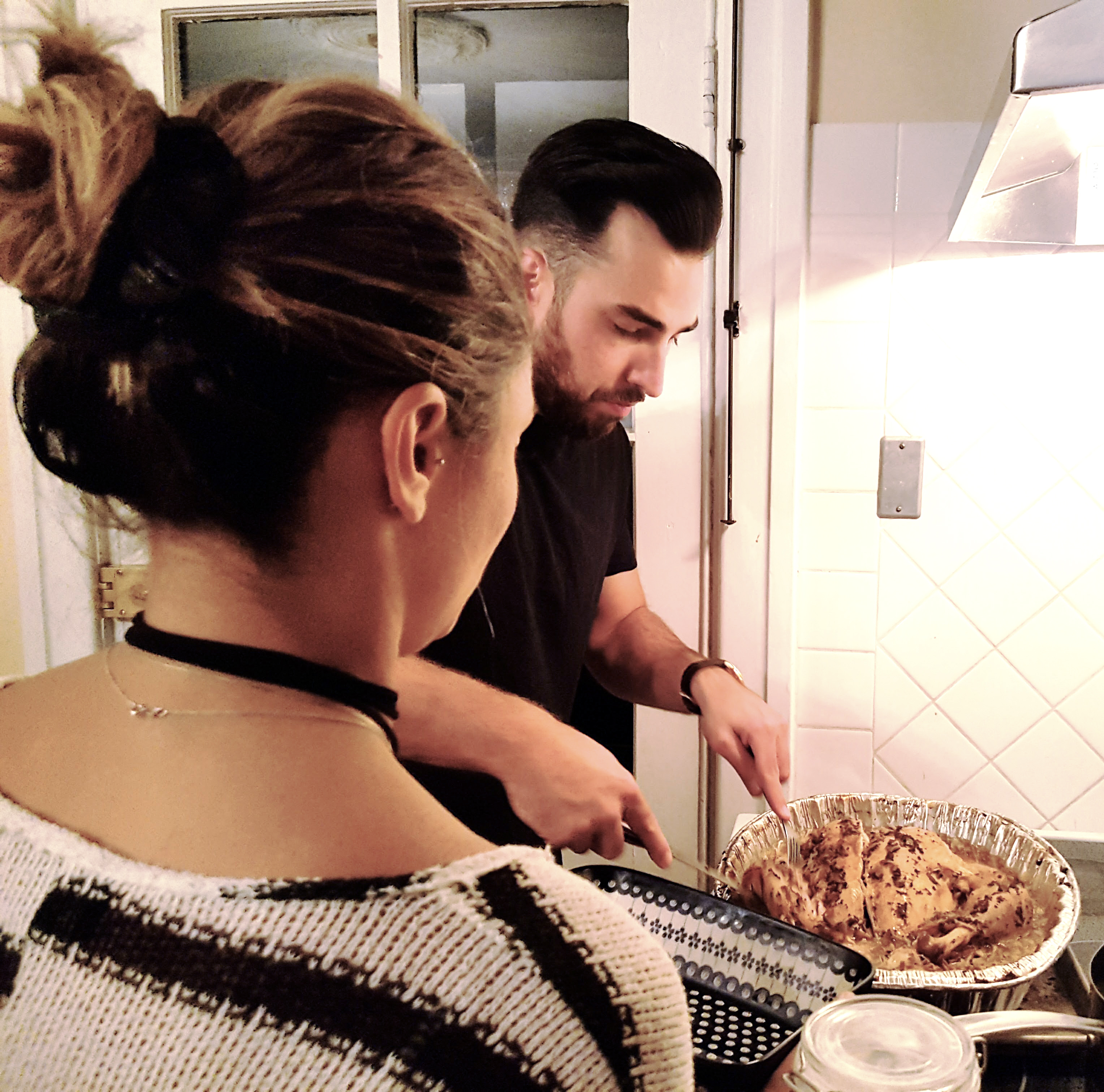 dindon, préparation, souper