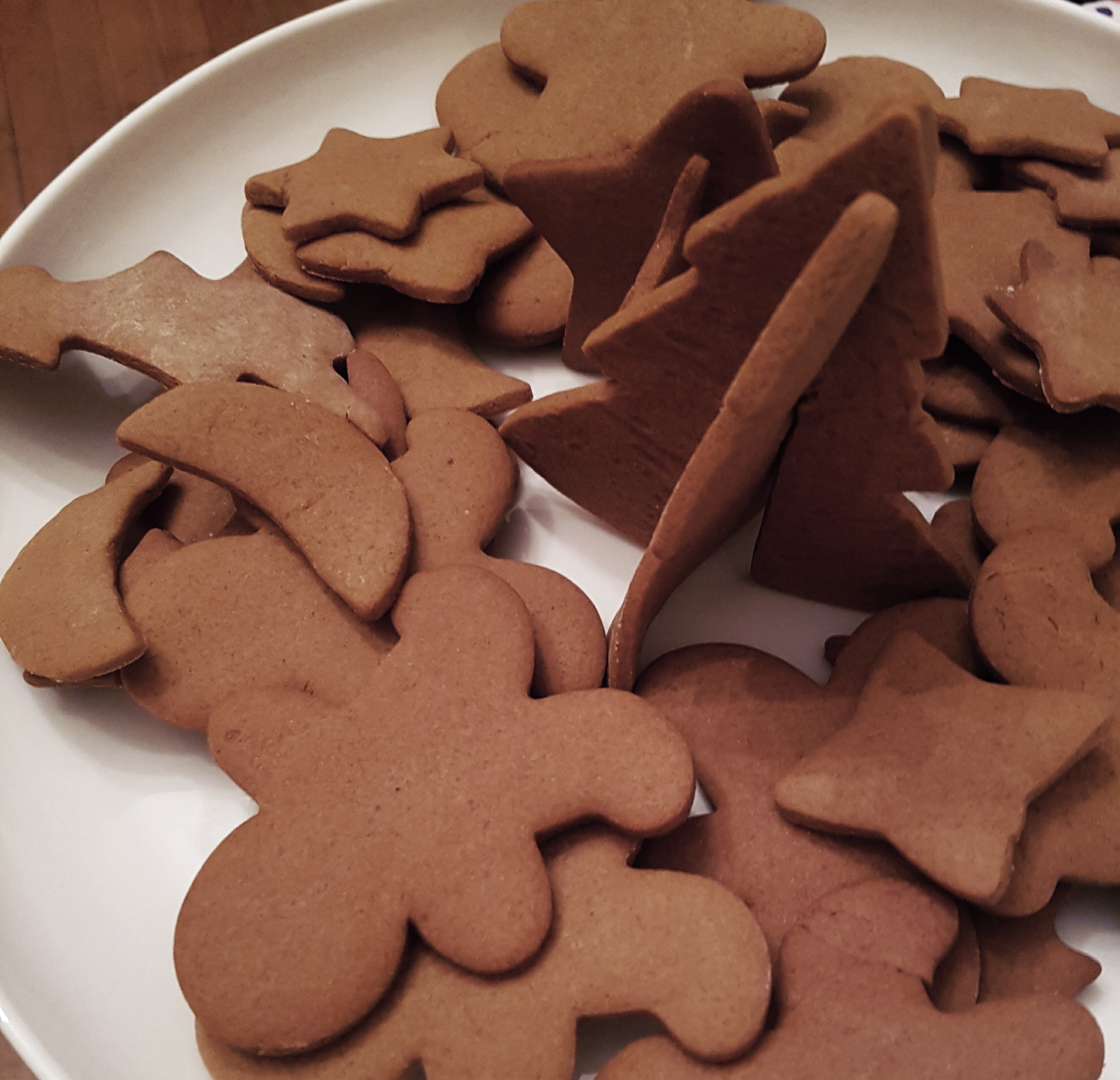 biscuits, épices, bonhommes