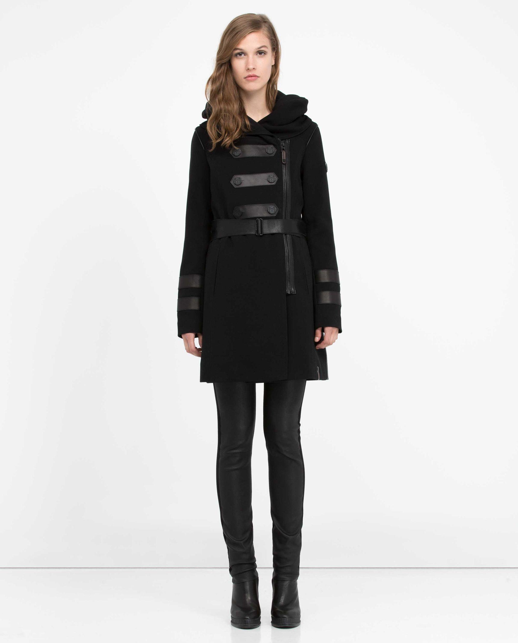 manteau, rudsak, mannequin