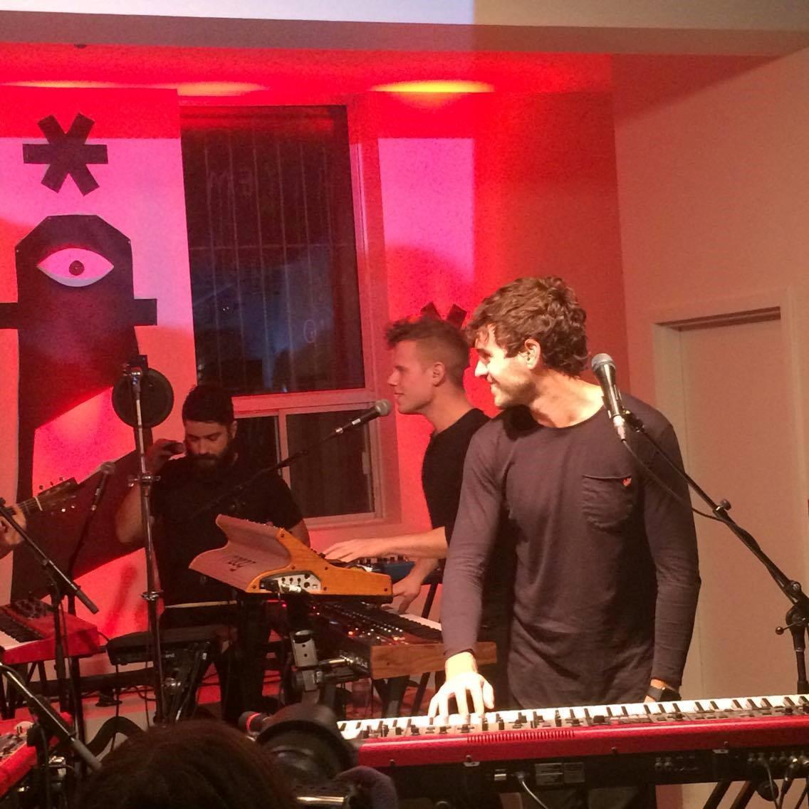 musique, piano, chanteur