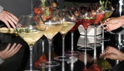 """Une soirée de concours """"Rich Recipe"""" de Veuve Clicquot au W"""