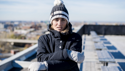 L'hiver avec Audvik