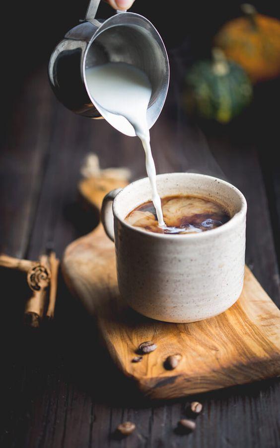 café, chaud, tasse
