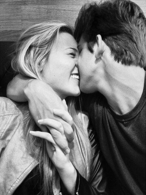 amour, couple, rire