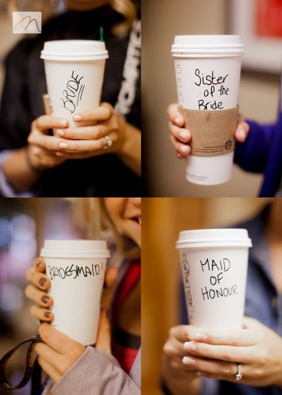 café, mariage, amies