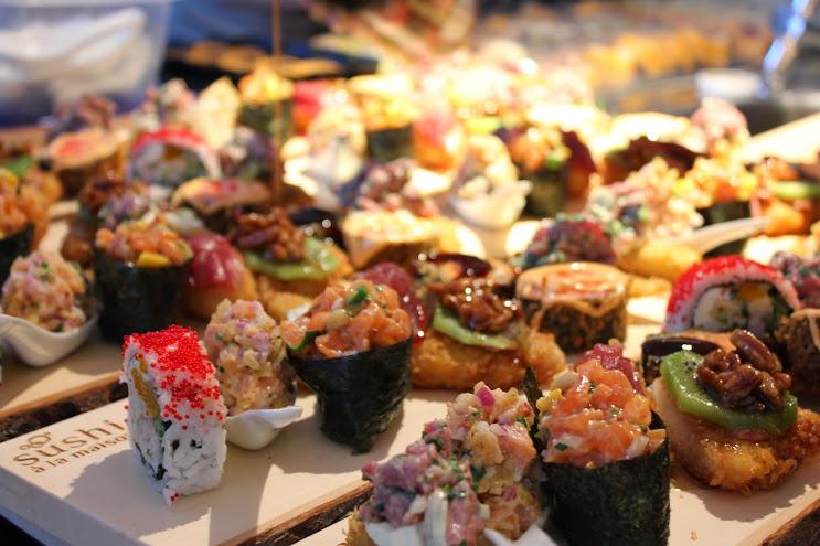 sushi cours nourriture