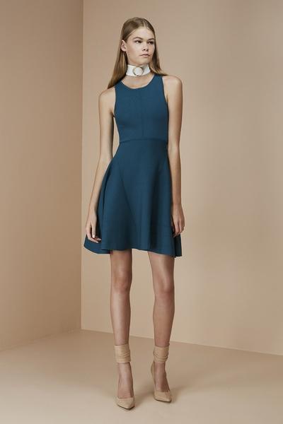 robe, turquoise, mannequin