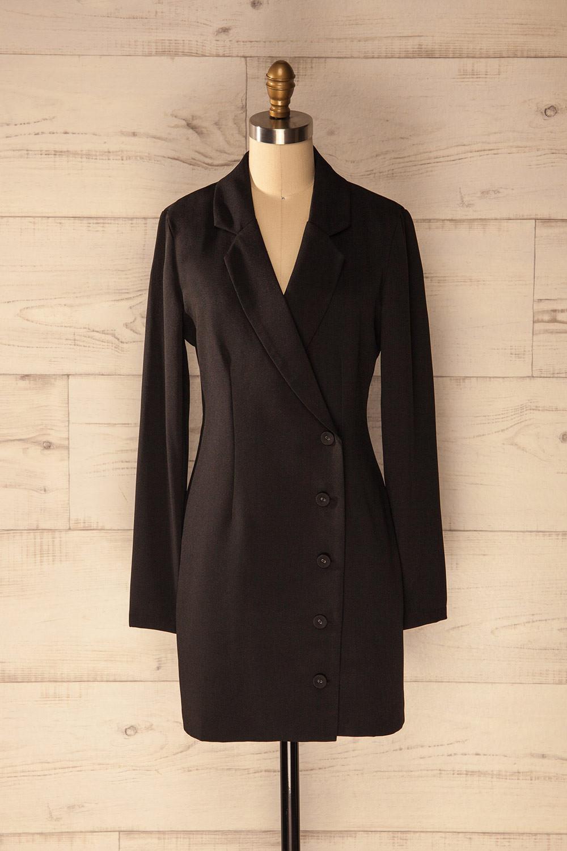 robe tailleur noir