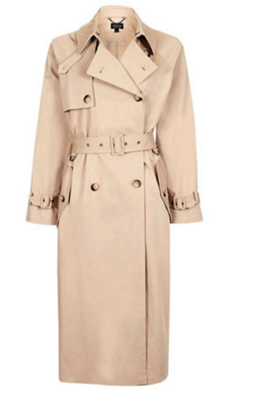 trench coat beige manteau