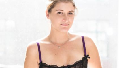 Du violet dans le tiroir de lingerie