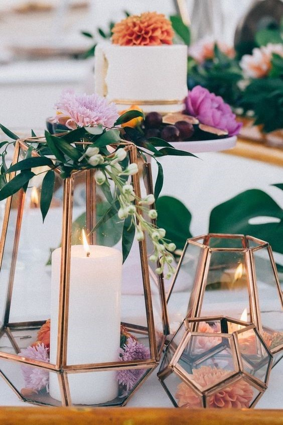 table, décorations, mariage