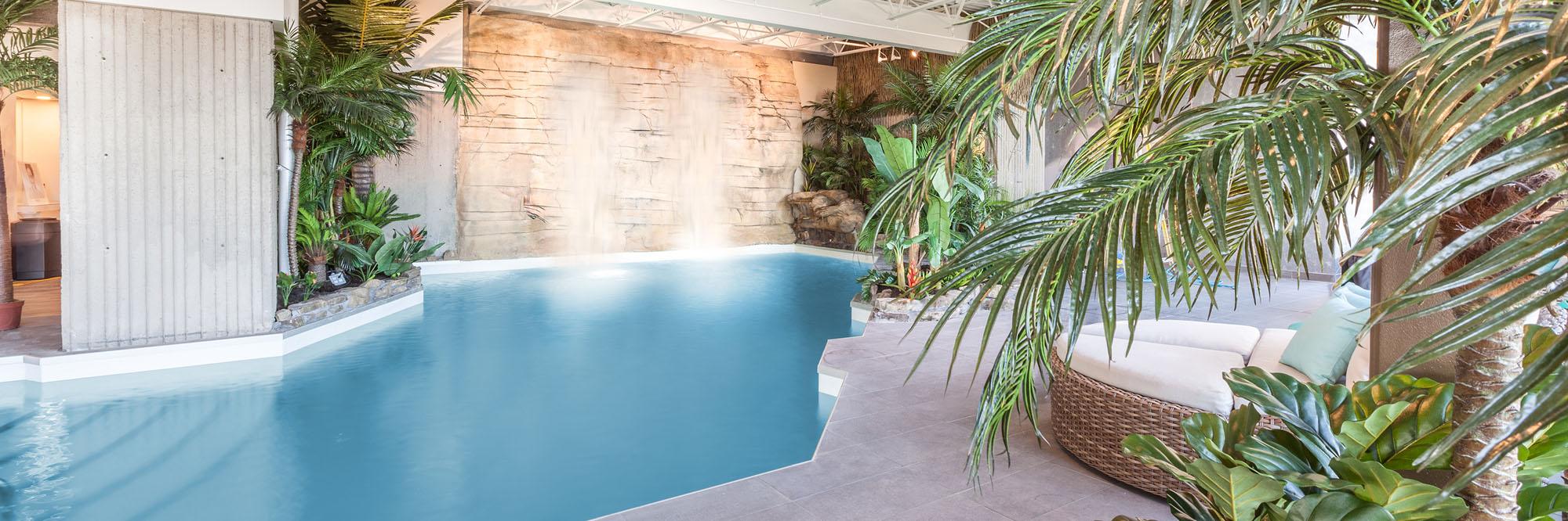 piscine, hôtel, spa