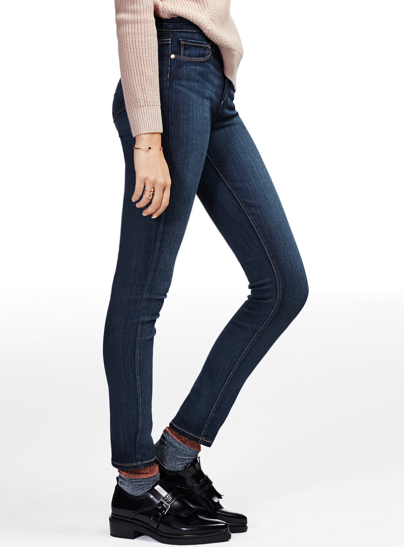 jeans, skinny, étroit
