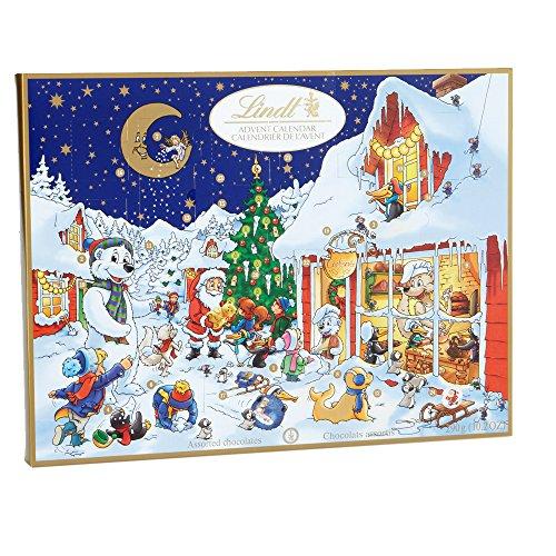 calendrier, chocolat, noel