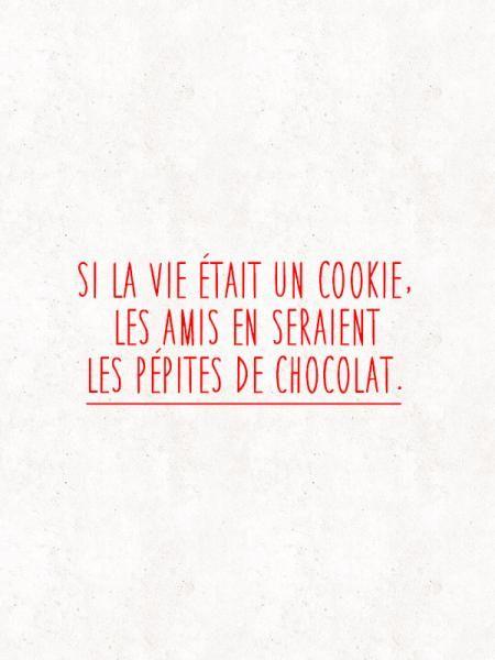 biscuit. amis, chocolat