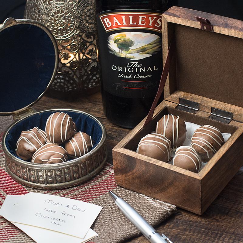 truffe, chocolat, baileys
