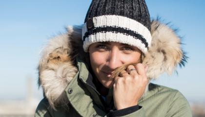 L'hiver en Audvik vert