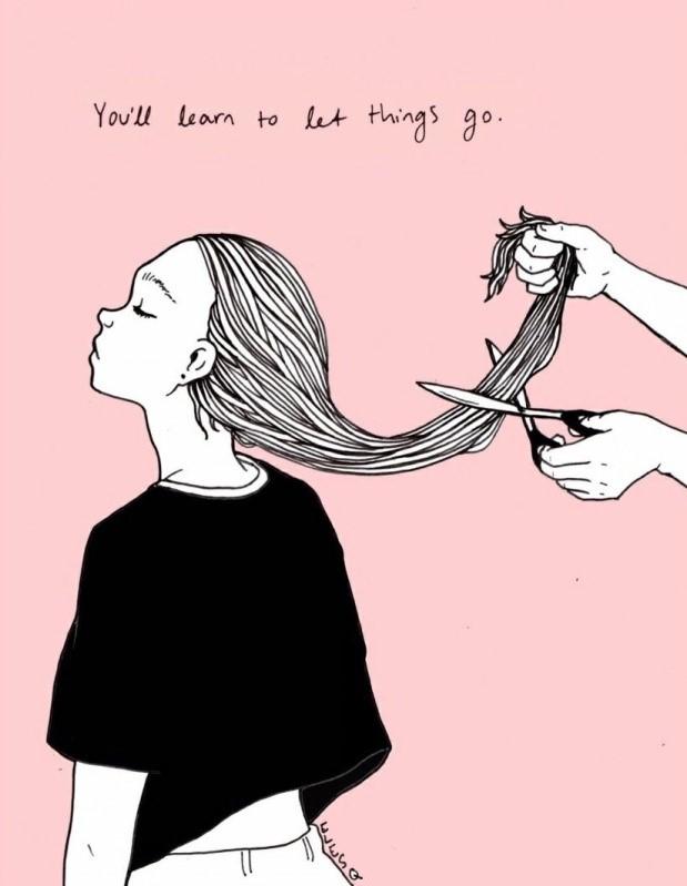cheveux changement coupe