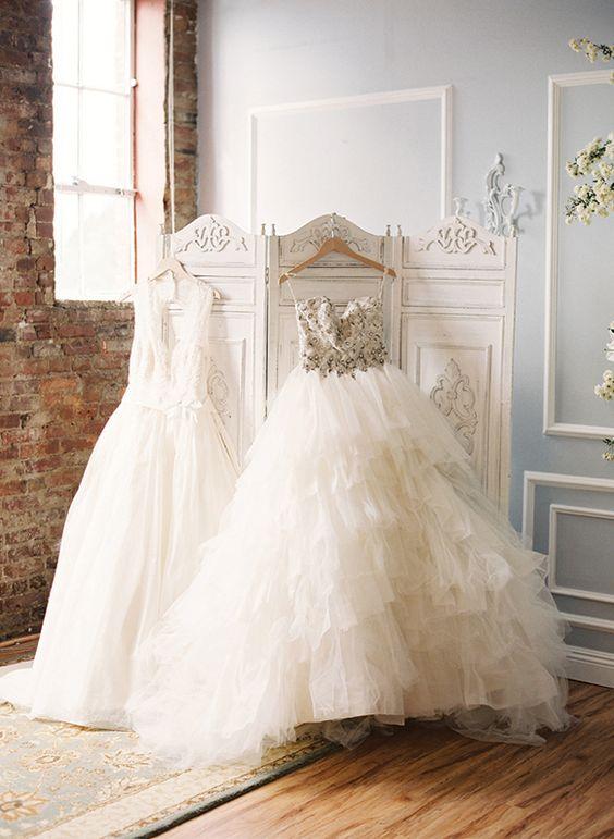 robe cabine d'essayage mariage