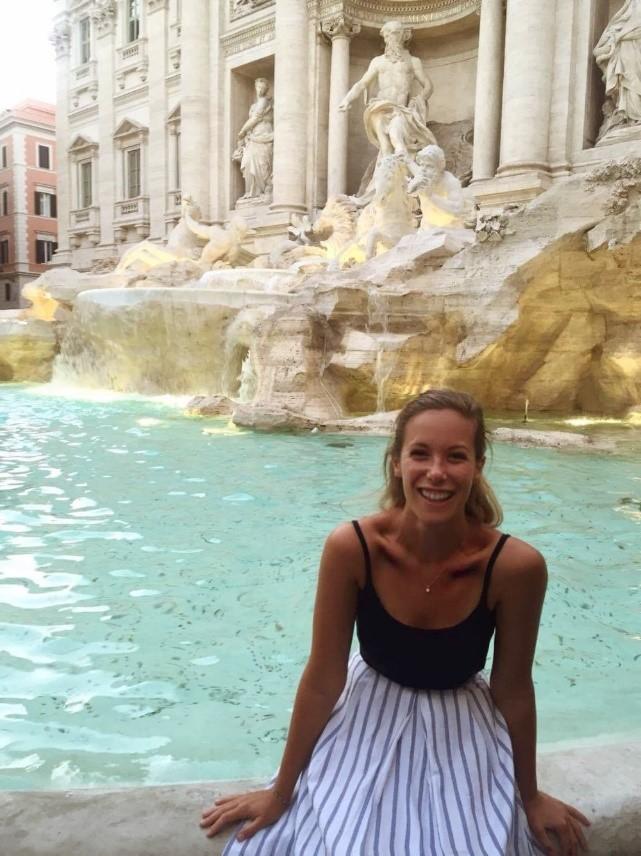 fontaine, Trévi, Rome
