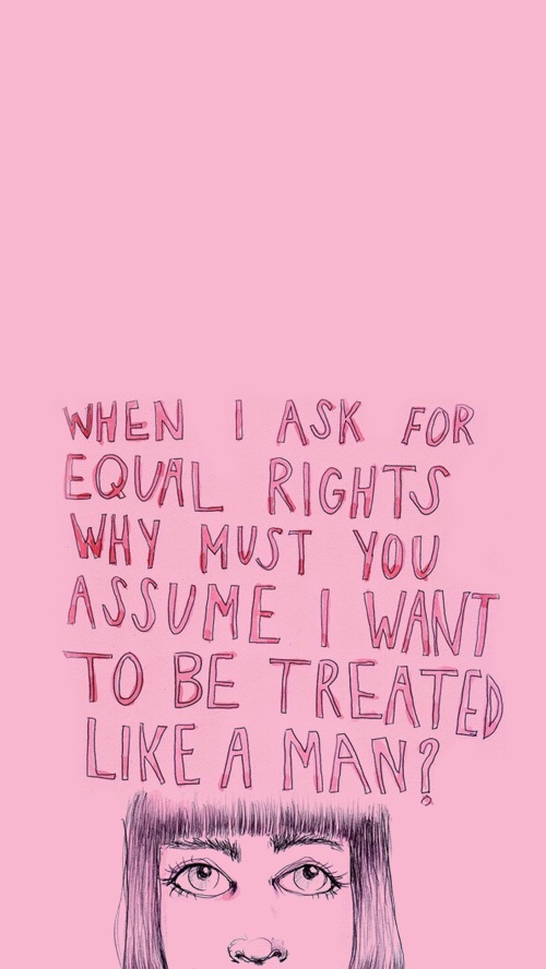 femme, droits, hommes