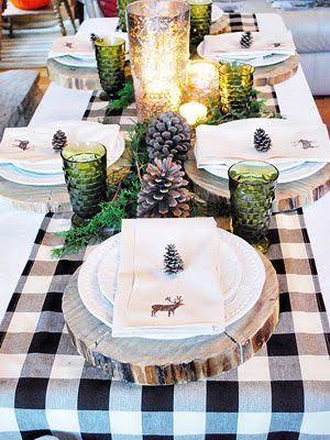 nape centre de table décoration