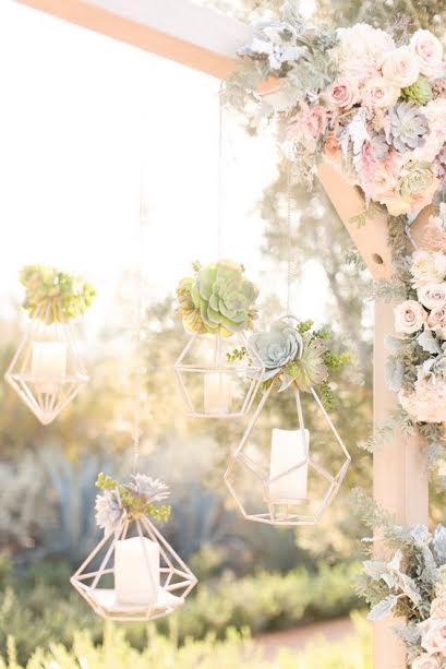 luminaire chandelle mariage