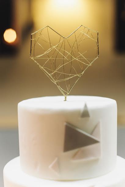 chandelle coeur décoration