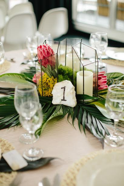 centre table mariage